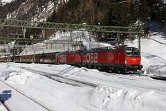 ÖBB 1293 023-8 und 1293 020-4 Güterzug, Brennero (TaurusES64U4) Tags: öbb 1293 vectron
