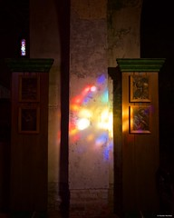 IMGP4811 Rays of light (Claudio e Lucia Images around the world) Tags: milano church abbey sancristoforo oldchurch interiors candles lowlight pentax pentaxk3ii sigma sigma1020 pittura muro naviglio navigliogrande pentaxart sigmalens sigmaart reflections lights shadows rayoflight