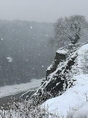 Avon Gorge in winter (jonathan charles photo) Tags: avon gorge clifton bristol stvincentsrocks winter snow art photo jonathan charles