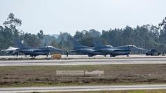USAF General Dynamics F-16C's Fighting Falcon (P.J.V Martins Photography) Tags: usaf lockheed generaldymanics f16 fighterjet fighter military militares aircraft warbird warplane airplane aeroplane jet war usa portugal