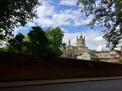 Winchester College from College Street (photo by Rakshita Patel)