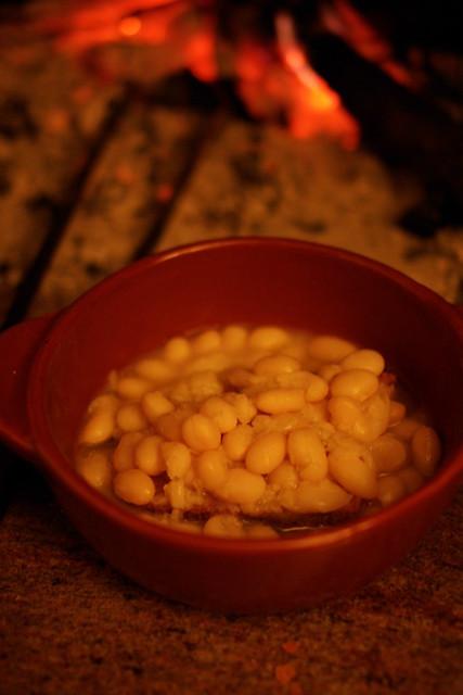fagioli e pane
