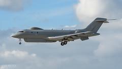 Snapshot1 | Sentinel R.1 (lee adcock) Tags: glex global6000 nikond500 raf rafwaddington runway20 sentinelr1 tamron150600g2 thewave zj691 airplane snapshot1