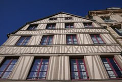 Medieval Hotel in Rouen (roomman) Tags: 2019 france rouen old town medieval