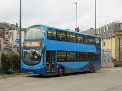 Rosso 426 (BF62UXW) 06112018b (Rossendalian2013) Tags: transdevblazefield transdev rossendaletransport rosso bus rochdale interchange yorkshirecoastliner volvo b9tl wright eclipsegemini bf62uxw