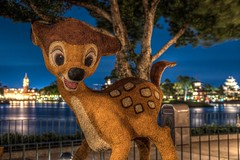 Bambi- zoom in ! (B-Martin Photography) Tags: topiary teamcanon canon disneyphotography wdw flowerandgardenfestival epcot bambi