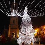 Christmas lights in Bergerac thumbnail