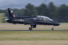 RAF Hawk T.1A XX303 at RAF Leeming (Mark_Aviation) Tags: raf hawk t1a xx303 leeming t1 egxe royal air force training 100 sqn squadron aircraft airplane airport aviation airlines aerospace aeroplane military base loud fast jet north east england yorkshire
