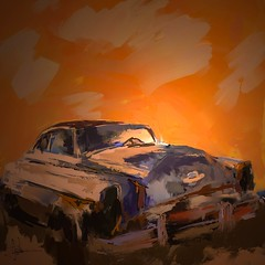 "Olds (""Jimmer"" ( http://jim-vance.pixels.com )) Tags: oldsmobile car ruin derelict abandoned decay rural"
