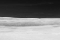 untitled . (helmet13) Tags: d800e raw bw landscape minimalist powerlines powerpole simplicity silence winter snow aoi peaceawards world100f