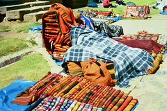 Chinchero Fabrics (jimarx) Tags: jimarx peru cusco bolivia southamerica chincheroblankets blankets chinchero alpaca