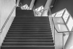 Stairway around the Corner (*Capture the Moment*) Tags: 2019 allianzarena architecture architektur februar february fotowalk munich münchen sonyilce6300 stefan tum