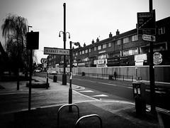 High Street, Brentford (dominicirons) Tags: brentford westlondon redevelopment highstreet marketplace blackwhite blackandwhite