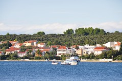 Village on the Adriatic (stevelamb007) Tags: dalmatia boats water adriaticsea village croatia zadar petrcane d90 nikon stevelamb