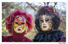 Carnaval vénitien de Remiremont 2019 : 3 (C. OTTIE et J-Y KERMORVANT) Tags: portrait carnaval carnavalvénitien remiremont lorraine france vosges