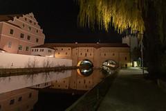 Amberg - Stadtbrille - Vils  3003 (Peter Goll thx for +11.000.000 views) Tags: germany deutschland bayern 2019 amberg de stadtbrille vils night nacht fluss river nikon nikkor d850 1424mm