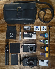 What's In My Camera Bag (laurentbourrelly) Tags: leica leicaq leicam leicaminilux camera photography gear