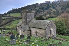 St Winifred's Church, Branscombe, Devon (Baz Richardson (catching up again!)) Tags: devon branscombe churchofstwinifredbranscombe englandsthousandbestchurches gradeilistedbuildings churches