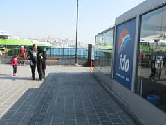 Istanbul Street Scenes (lazy south's travels) Tags: istanbul turkey turkish capital city man woman niqab islam veiled river side riverside black road street scene