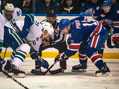 Amerks v Comets (2 of 5) (DJDouken) Tags: hockey ahl sports nikon rochester americans amerks utica comets celebration goal score blue white ice
