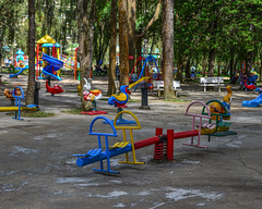 Children playground in Dalat, Vietnam (phuong.sg@gmail.com) Tags: activity age attraction blue child childhood children city color colorful day design dynamics employment empty entertainment equipment exercise fun functionality game generation gladness gravity ground happiness happy kid leisure nature nobody outdoor outside park play playground recreation seat slide sport summer swing toy urban yard