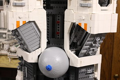 Ugly Duckling: engineering nightmare (Blake Foster) Tags: lego afol space spaceship microscale microspace moc wip
