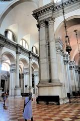Janine in San Giorgio (edenpictures) Tags: venice venezia italy italia sangiorgiomaggiore churchofsangiorgiomaggiore palladio interior janine church