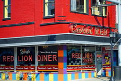 Red Lion Diner (she wolf-) Tags: forget where exactly snapped this drive by photo but loved colors by© diane marie kramer aka she wolf