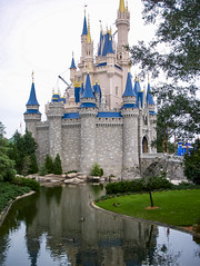 Enchanted Castle (Raoul Pop) Tags: architecture castle ducks fortification garden pond structure technology tower
