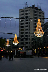 На улице Короля Александра (tatianatorgonskaya) Tags: сербия зимавсербии новыйгод рождество европа балканы путешествие блогопутешествиях блогожизнизарубежом balkans balkanstravel balkan srbija serbia europe novisad новисад зимавновисаде новыйгодвсербии новыйгодвевропе