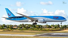 TUI | G-TUIK | Boeing 787-9 | BGI (Terris Scott Photography) Tags: aircraft airplane aviation plane spotting nikon d750 f28 travel barbados jet jetliner tui fly 7879 tamron 70200mm di vc usd g2