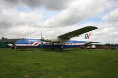 Herald 211 (Pentakrom) Tags: city norwich aviation museum handley page herald gaskk