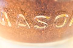 Macro Mondays - Brew Theme (sephrocker) Tags: macro brew macromondays cofee mason jar depthoffield blur warm