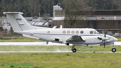 8400181 C-12U US Army Europe (Anhedral) Tags: einn snn shannonairport aircraft airplane 8400181 beechcraft c12 c12u3 huron usarmy usareur turboprop military