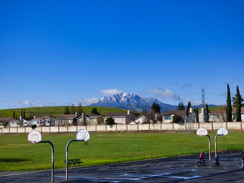 2019-02-10- Landscape Photography - Snow on Mount Diablo