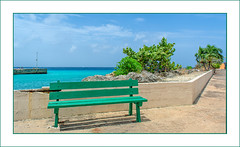 Seaside (Timothy Valentine) Tags: 2018 caribbean large bench vacation sky 0418 monday bridgetown saintmichael barbados bb