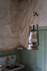 Lantern (Dancing.With.Wolves) Tags: bodie town ghost history old historic gold rush boomtown candle light lantern wallpaper sink