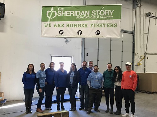 Food Drive Sorting Event 2/15/19