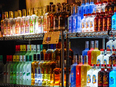 Discover the New Corazon (Steve Taylor (Photography)) Tags: corazon lime otzi blueice101 tangerine passionfruit mango coconut colourful vivid glass newzealand nz southisland canterbury christchurch alcohol armageddonexpo bar bottle bottles cocktailbar coco drink translucent
