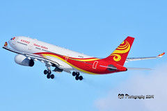 B-5979 Hainan Airlines Airbus A330-243 DSC_4130 (Ron Kube Photography) Tags: aircraft plane flight airliner nikon nikond7200 d7200 ronkubephotography yyc calgary calgaryinternationalairport b5979