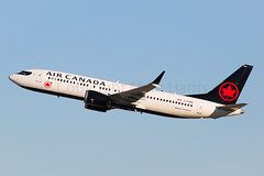 Air Canada Boeing 737-8 MAX C-FSEQ (Mark Harris photography) Tags: spotting lax la canon 5d boeing max 737 plane