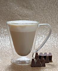 2019 Sydney: Coffee + Chocolate (dominotic) Tags: 2019 food chocolate coffee coffeewithminitobleroneblocks foodphotography yᑌᗰᗰy coffeeobsession sydney australia
