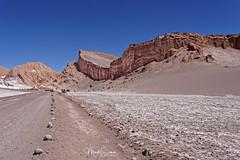 Atacama desert, want to follow me? (marko.erman) Tags: atacama sanpedrodeatacama chile valledelsal desert salt dry arid beautiful panorama road sony
