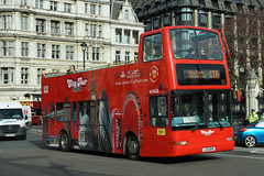 Original London (LN) - LJ51 DKK (peco59) Tags: lj51dkk dlp59 dlp259 daf db250 plaxton president originallondon londoncitytour ratp arrivalondonnorth psv pcv opentopbus bus