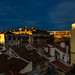 Morning view from patio, Lisbon, December 28, 2018