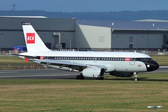 "G-EUPJ Airbus A319 British Airways ""BEA Retro"" @ Belfast City Airport 14th March 2019 (_Illusion450_) Tags: bea ba a319 airbus 319 british airways britishairways britisheuropeanairways retro ba100 19192019 airbusa319 airport aircraft airplane airline airlines aeroplane aeroport aeropuerto aeronautical aviation avion flughafen bhd belfast belfastcityairport belfastharbourairport georgebestbelfastcityairport gbbca sydenham egac"