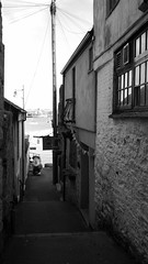 Falmouth (Dubris) Tags: england cornwall falmouth coast alley bw monochrome