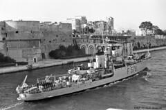 f-578-baionetta-taranto-1962-10-05_14076548822_o (t.libra) Tags: warships corvette taranto marinamilitare corvetteclasseape f578baionetta 1962