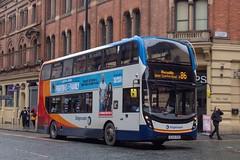Stagecoach SL64HZN (Mike McNiven) Tags: stagecoach manchester piccadilly piccadillygardens portlandstreet chorlton alexanderdennis enviro400 enviro400mmc mmc citycentre bus transport transportation
