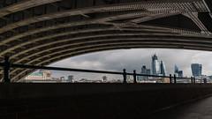DSC00951 (marksmith0701) Tags: london blackfriars bridge underneath rivets walkietalkie cheesegrater pavement river thames view